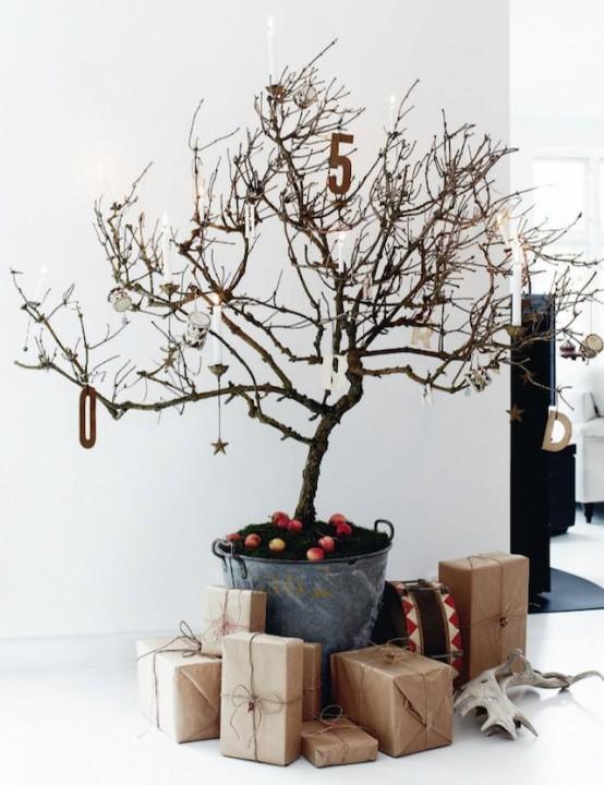 Original 20 id es de sapins de no l habitatpresto for Elle decor christmas tree