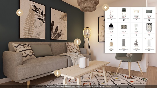 Shopping list projet deco