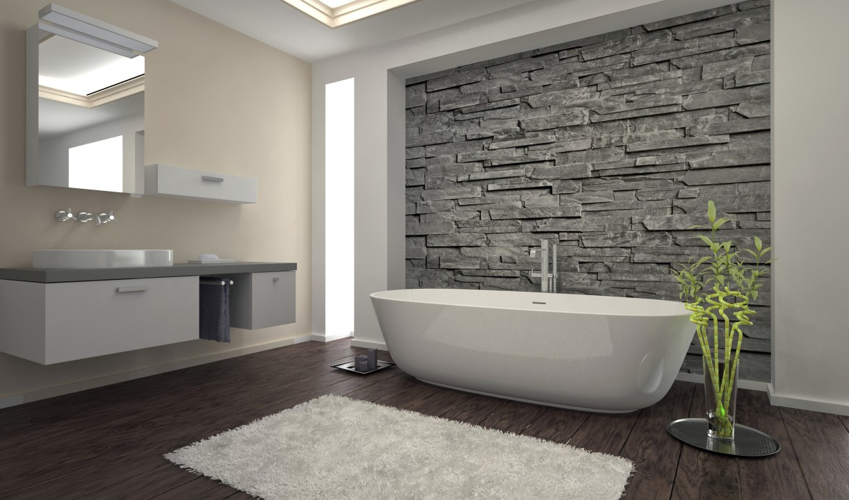 comment rénover sa salle de bain sans casser le carrelage ... - Salle De Bain Sans Faience
