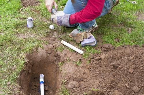 Installation d'un arrosage automatique enterré