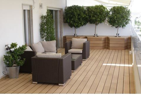 terrasse bois carrelage melange xo53 jornalagora. Black Bedroom Furniture Sets. Home Design Ideas