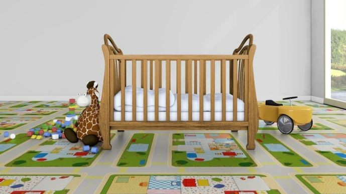 Conseils d coration chambre d 39 enfant habitatpresto for Sol stratifie chambre