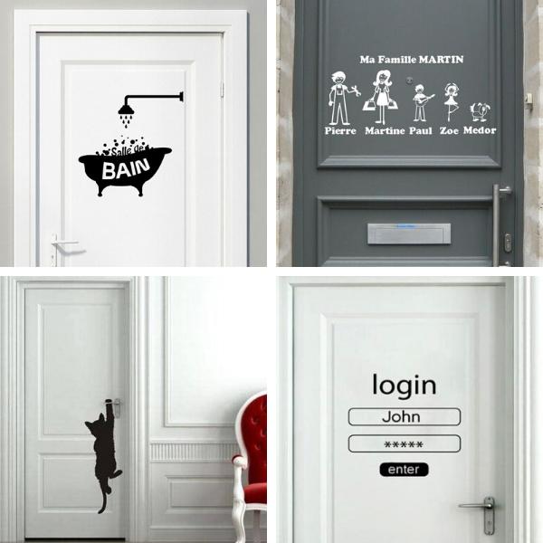 Decoration De Porte 20 Idees Originales Pour Les Relooker