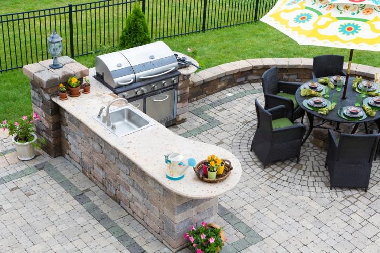 Populaire Terrasse : comment réaliser un coin barbecue ?   Habitatpresto PH17