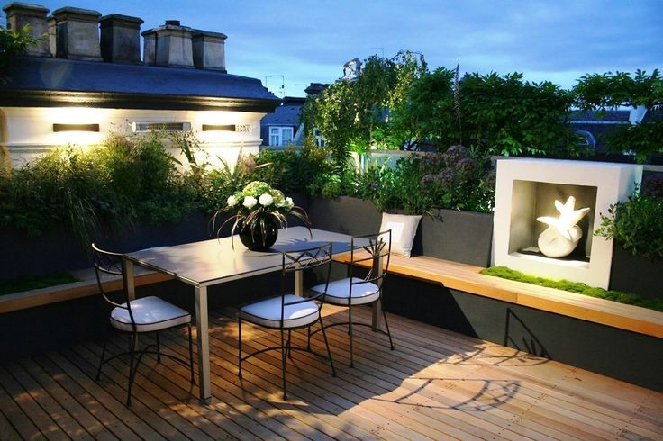 am nagement de terrasse les meilleures id es pour un. Black Bedroom Furniture Sets. Home Design Ideas