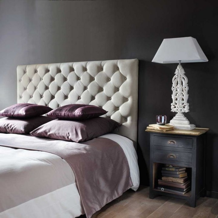 10 id es de t tes de lit sur mesure habitatpresto. Black Bedroom Furniture Sets. Home Design Ideas