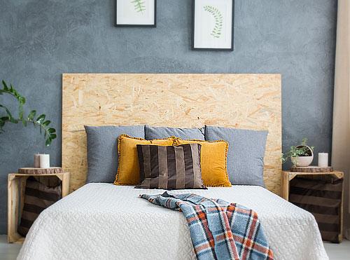 plaque dosb utilise pour une tte de lit - Tete De Lit En Bois