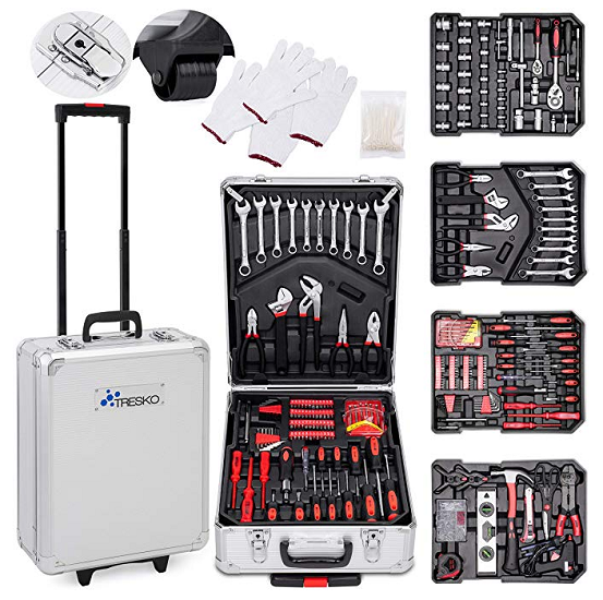 Valise roulette outils