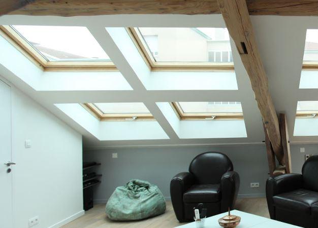 Super Luminosité des combles avec les fenêtres de toit | Habitatpresto VW91
