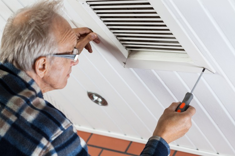 ventilateur installation ancien