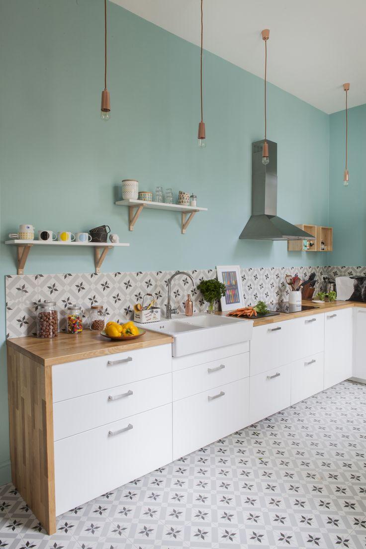 Quelle couleur pour les murs d\'une cuisine blanche ? | Habitatpresto