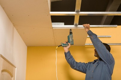 Raccord placo faux plafond nancy prix artisan peinture for Raccord lambris pvc plafond