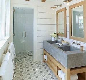 4 solutions pour séparer les toilettes dans une salle de bain ... - Prix Creation Salle De Bain