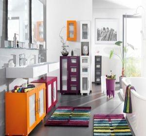 Id es de couleurs de salle de bain habitatpresto - Idee de couleur salle de bain ...