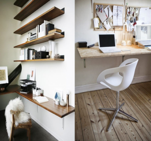 Croissant Salon/Chambre : 10 idées déco pour aménager un coin bureau KK-28
