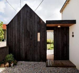 Bardage en bois br l tout savoir habitatpresto - Peindre la facade de sa maison ...