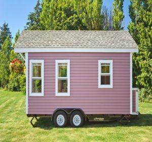tiny house la maison mobile et pratique habitatpresto. Black Bedroom Furniture Sets. Home Design Ideas