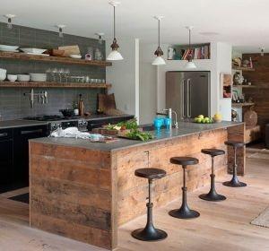 tendances déco 2017 : rénover votre cuisine | habitatpresto - Meuble Cuisine Ilot Central