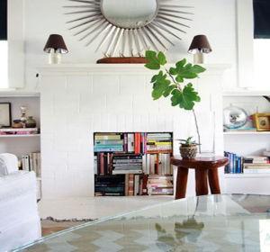 comment d corer une ancienne chemin e. Black Bedroom Furniture Sets. Home Design Ideas