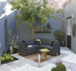 Am nager un patio id es d coration habitatpresto - Idee patio exterieur ...