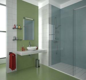 4 solutions pour s parer les toilettes dans une salle de bain habitatpresto. Black Bedroom Furniture Sets. Home Design Ideas