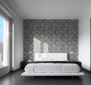 rev tement mural la toile de tissu tendue habitatpresto. Black Bedroom Furniture Sets. Home Design Ideas
