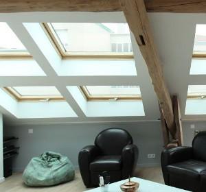 puits de lumi re pour toit plat et sous sol habitatpresto. Black Bedroom Furniture Sets. Home Design Ideas