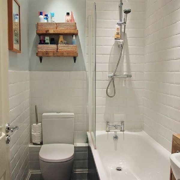 4 solutions pour s parer les toilettes dans une salle de bain habitatpresto. Black Bedroom Furniture Sets. Home Design Ideas