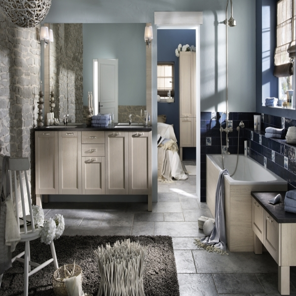 Choisir le carrelage de la salle de bain habitatpresto for Prix peinture pour carrelage salle de bain