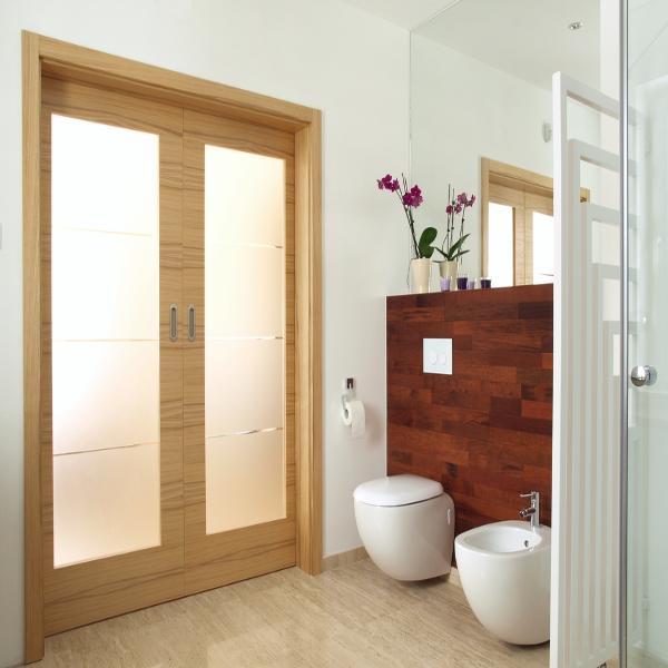 5 bonnes raisons d'installer une porte coulissante dans sa salle ... - Porte Coulissante Pour Salle De Bain