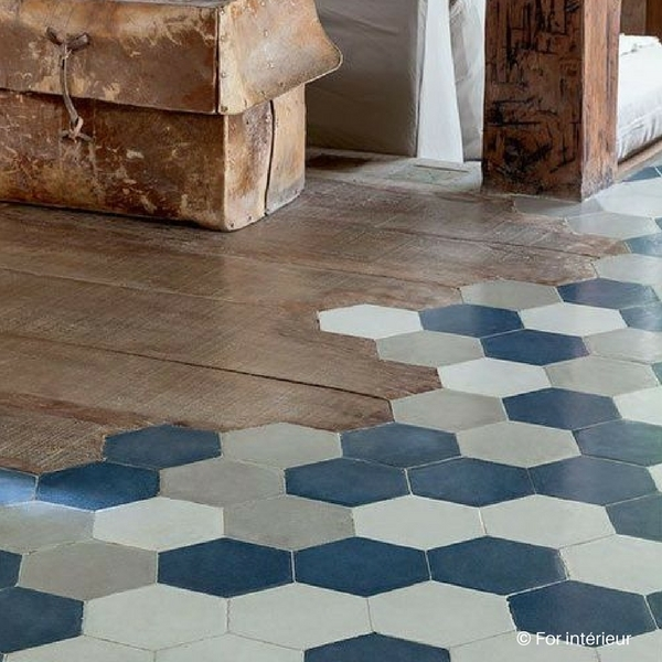 association carrelage parquet