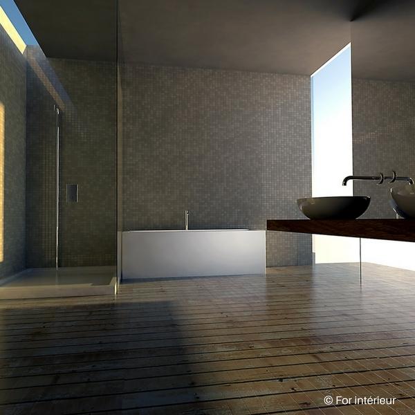 Rénovation salle de bain sans casser le carrelage