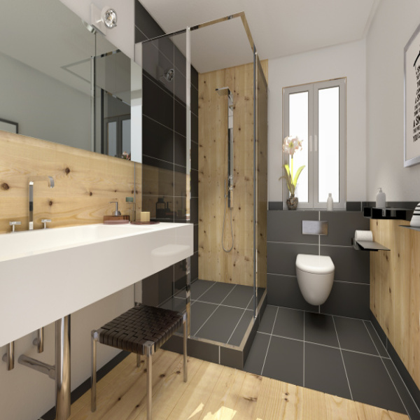 Tendances d co 2018 salle de bain habitatpresto for Fenetre zen modele paris
