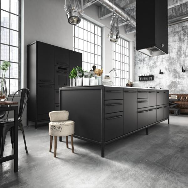 Osez les meubles noirs pour la cuisine meubles cuisine noirs