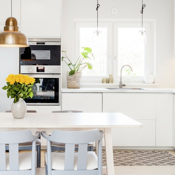 choisir une cuisine couleur bleue habitatpresto. Black Bedroom Furniture Sets. Home Design Ideas