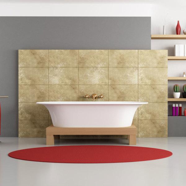panneau mural salle de bains tout savoir pour bien choisir. Black Bedroom Furniture Sets. Home Design Ideas
