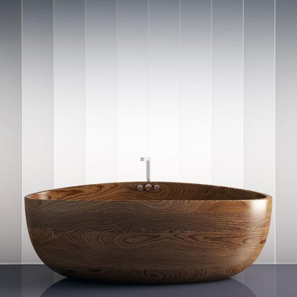 Baignoire en bois : 5 tendances pour réchauffer la salle de ...