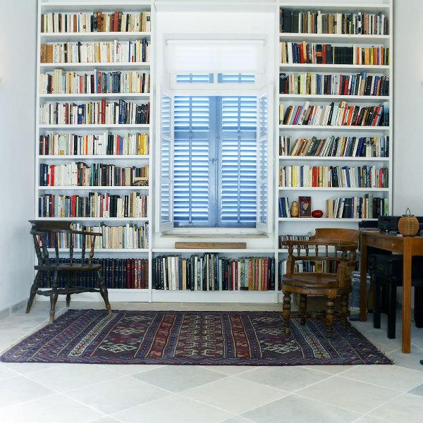 Bibliothèque : le classique chic