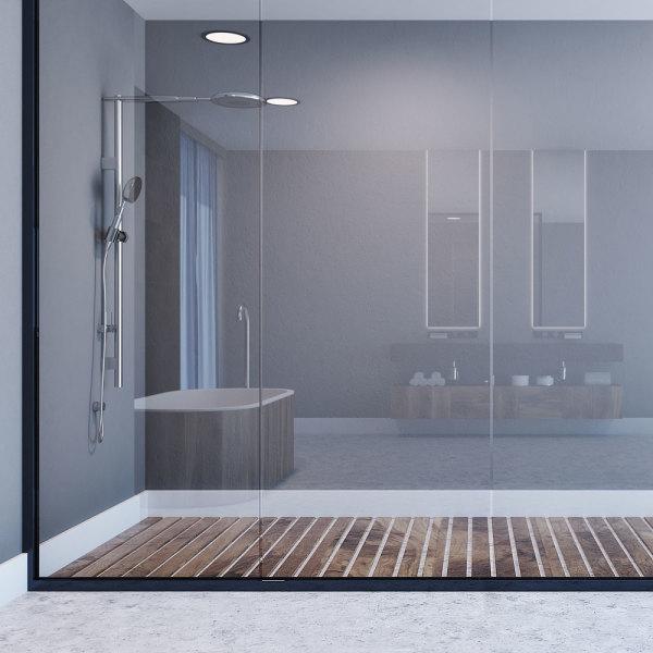 Verrière de salle de bains : 5 inspirations qui vont vous plaire