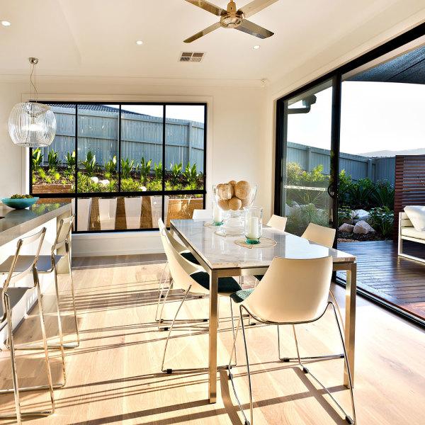 Prix d 39 une extension de maison avec toit plat quel budget - Extension cuisine sur jardin ...