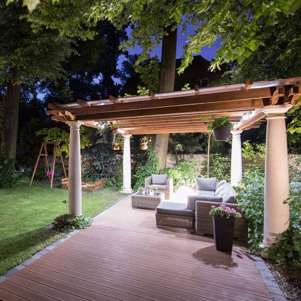 Eclairage Led Pour Terrasse Pergola3 Solutions Votre Illuminer DH2eE9YWI