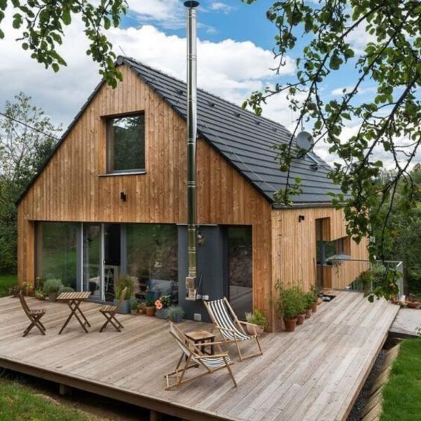 Prix maison à ossature bois : les tarifs au m² à connaître