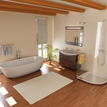 Prix salles de bain wc habitatpresto - Salle de bain avec wc ...