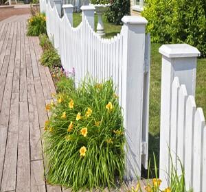 Cl tures en pvc prix pose entretien habitatpresto for Prix entretien jardin