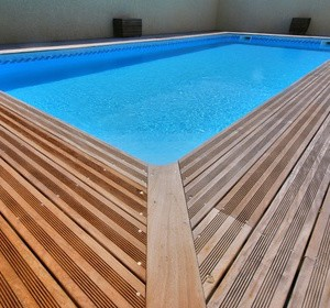 Choisir son mat riau de margelle de piscine habitatpresto for Type de margelle piscine