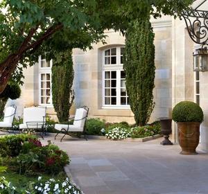 Superbe ... Terrasse Pierre Naturelle