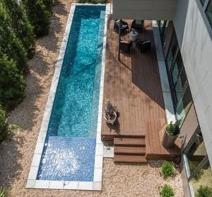 piscine quel tarif pour un couloir de nage habitatpresto. Black Bedroom Furniture Sets. Home Design Ideas