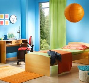 Chambre pour enfants les couleurs a privilegier dans une for Agencement chambre enfant