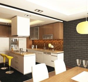 Peinture de r novation meubles et cuisine habitatpresto - Peinture speciale meuble de cuisine ...