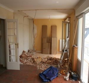... Demolition Casse Mur Porteur Cloison